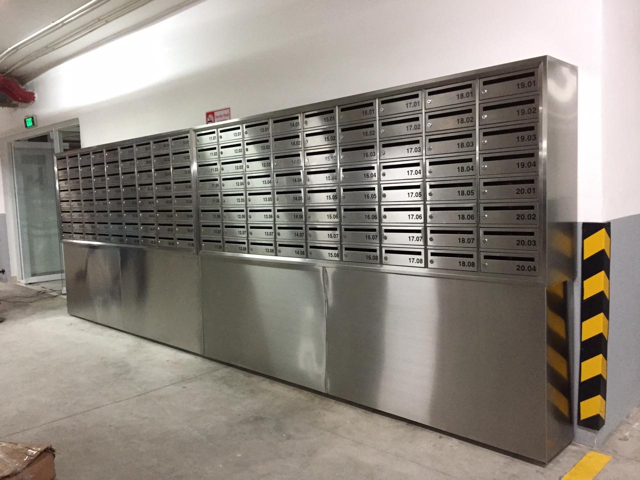 Hòm thư, tủ thư/Combined mailbox