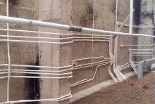 Đi ống điện - điều hòa